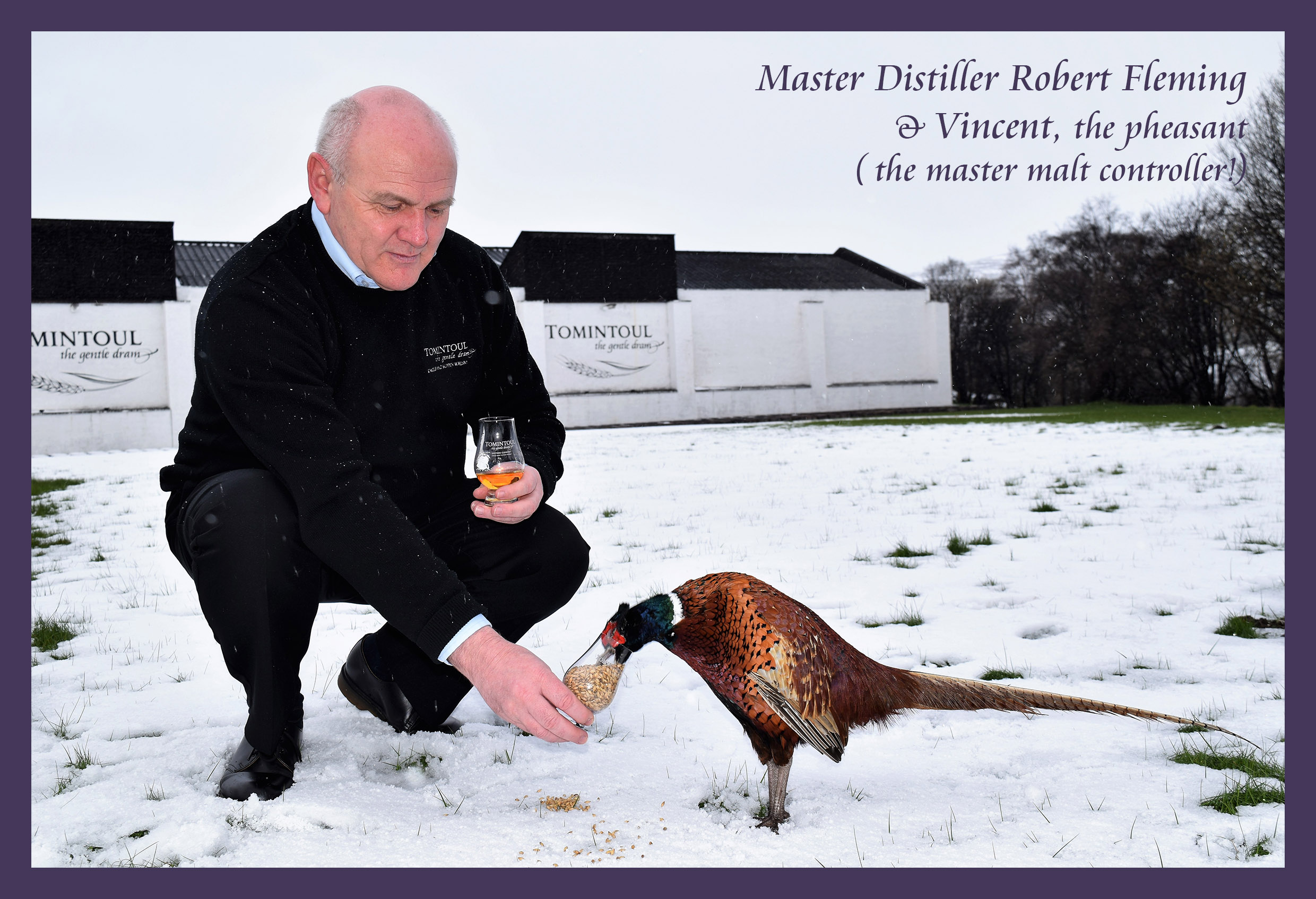 SOSWF - ENJOYING A DRAM WITH THE MASTER DISTILLER 26.4.2017